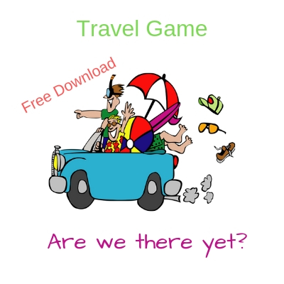 Car load of people going to the beach, Are we there yet, Free Download, Travel Game