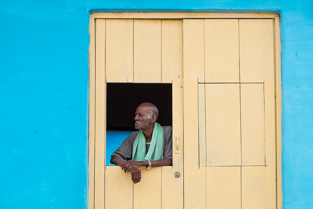 Cuba #1- Trinidad in Blue & Yellow