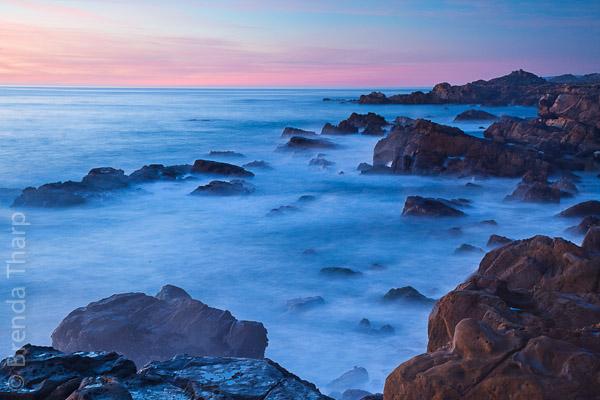 Salt Point Seascape at twilight