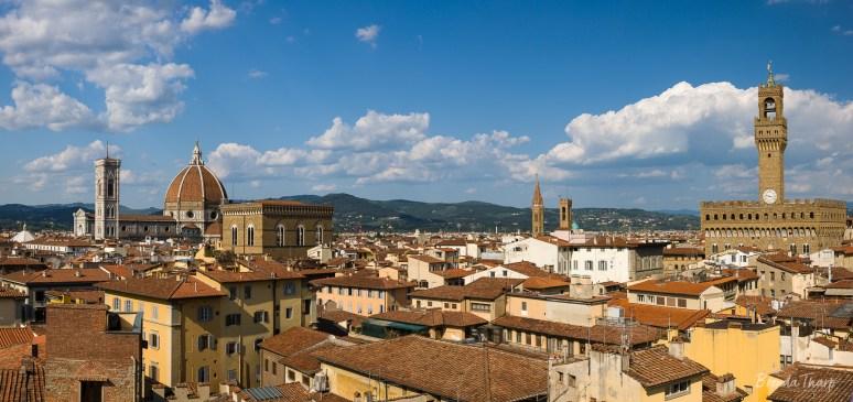 Florence's Skyline, Italy.