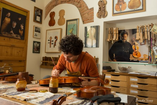 A Luthier at Work