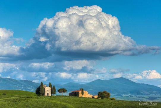 Capella di Vitaleta, Tuscany.