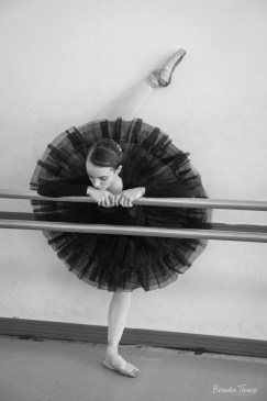 Ballerina Stretching, Cuba