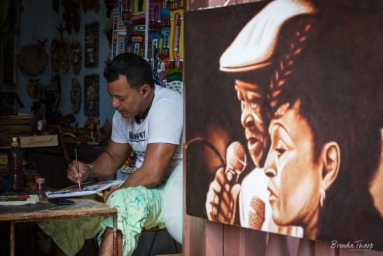 Artist and Studio, Trinidad, Cuba.