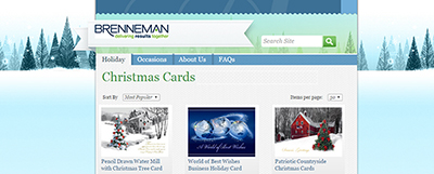 Order Christmas Cards