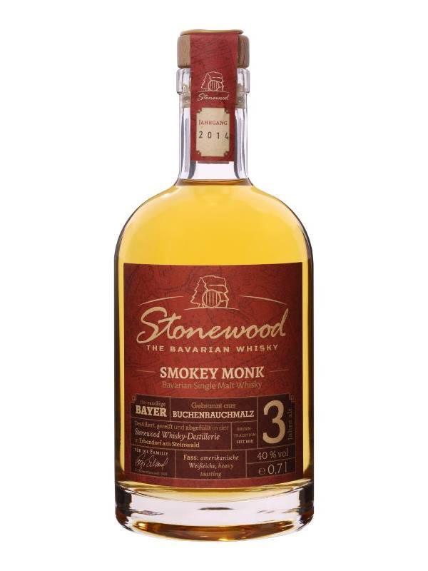 Stonewood Smokey Monk - bayischer Whisky 0,7L