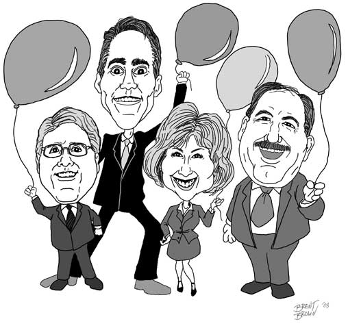 Mtn. 1st Caricatures