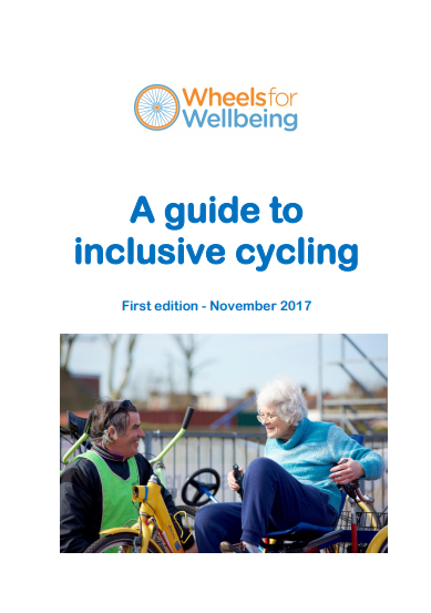 A Guide to Inclusive Cycling | Brent Cycling Campaign