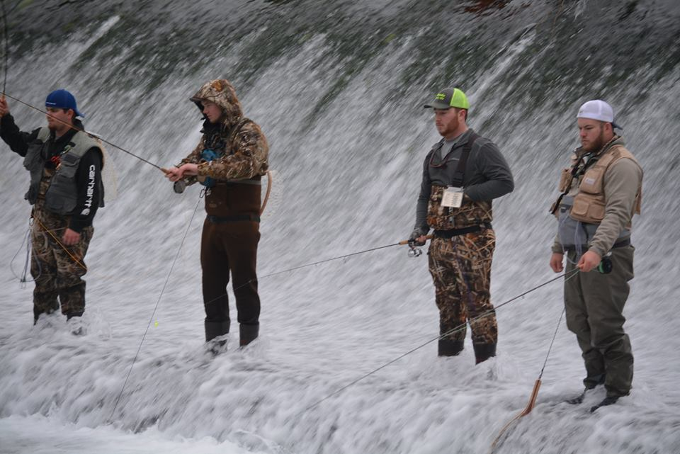 Fly Fishing With Friends