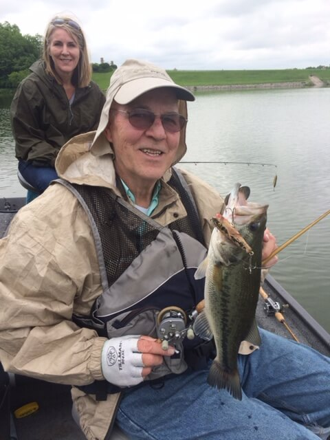 Kansas City man loves to relive fishing's past