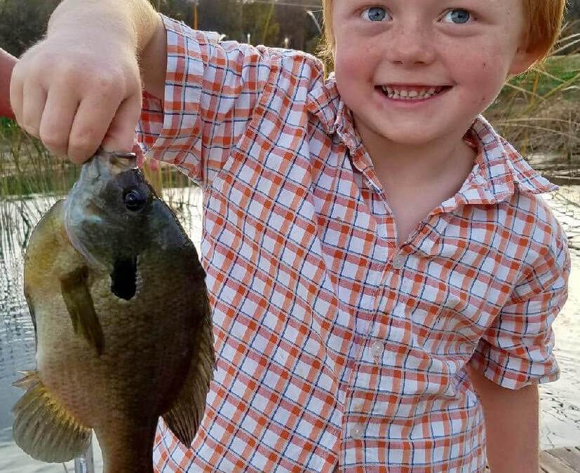 Picture this, kids. Here's your chance to show off your catch