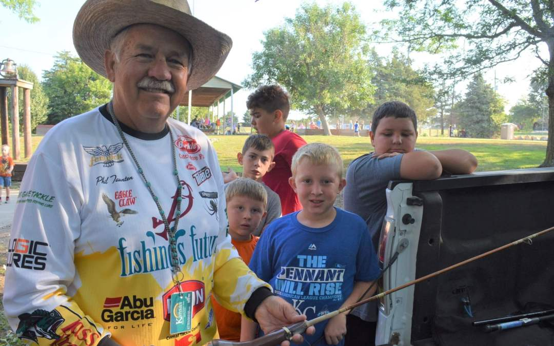 Kansas man is devoted to helping kids discover the outdoors