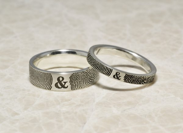 Brent and Jess You and Me rings