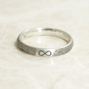 Custom 3mm infinity ring