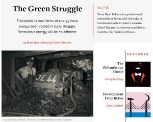 green struggle
