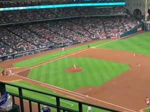 Houston Astros against the Toronto Blue Jays
