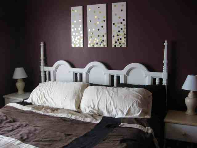 No sand thrifted headboard makeover