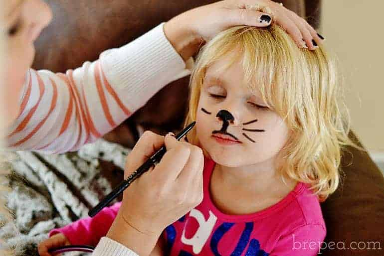halloween animal face makeup for kids