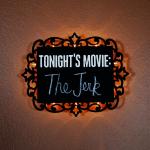 Illuminated Chalkboard Sign