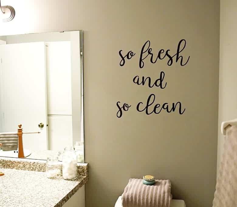 Marvelous bathroom diy wall art tutorial