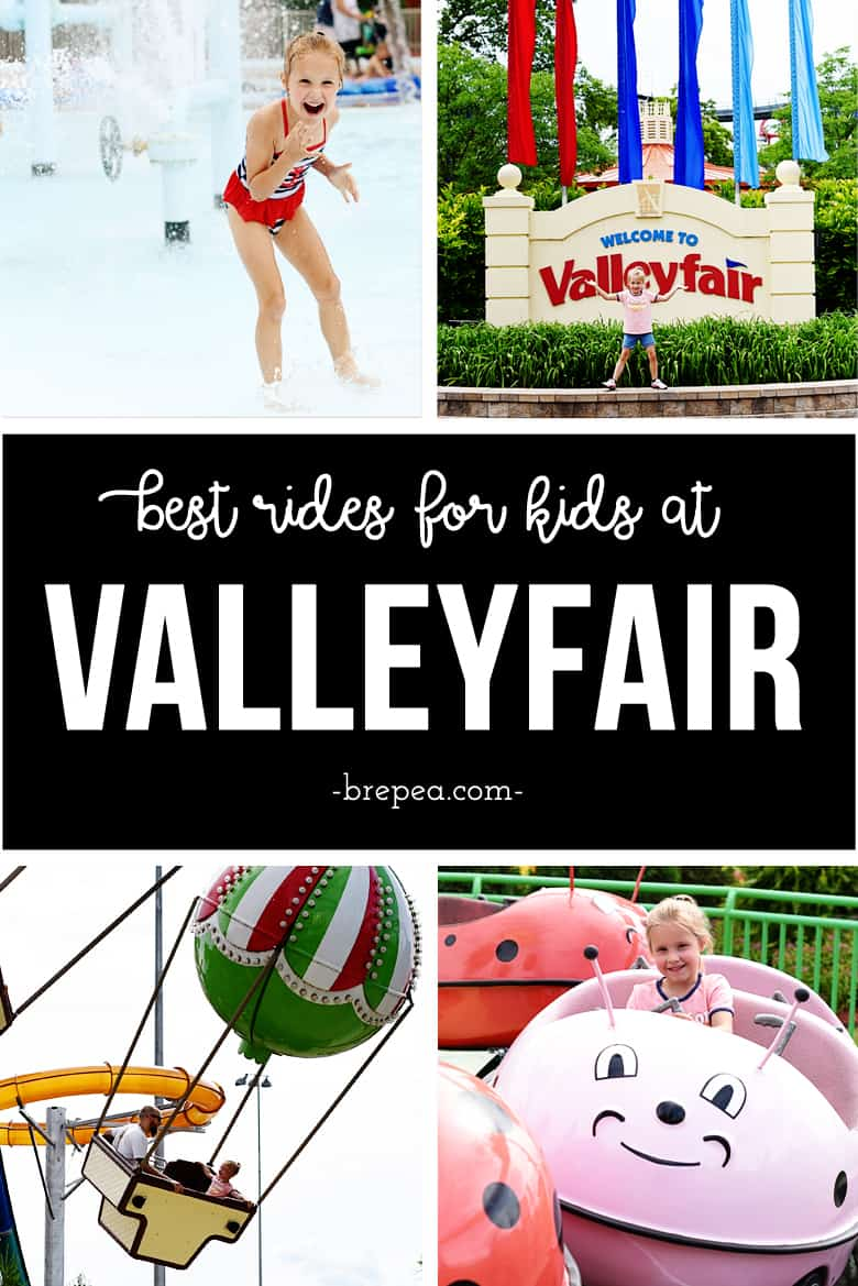 Valleyfair in Shakopee, MN is an iconic place for Minnesota summer family fun. Check out this post about the best Valleyfair rides and attractions for kids!