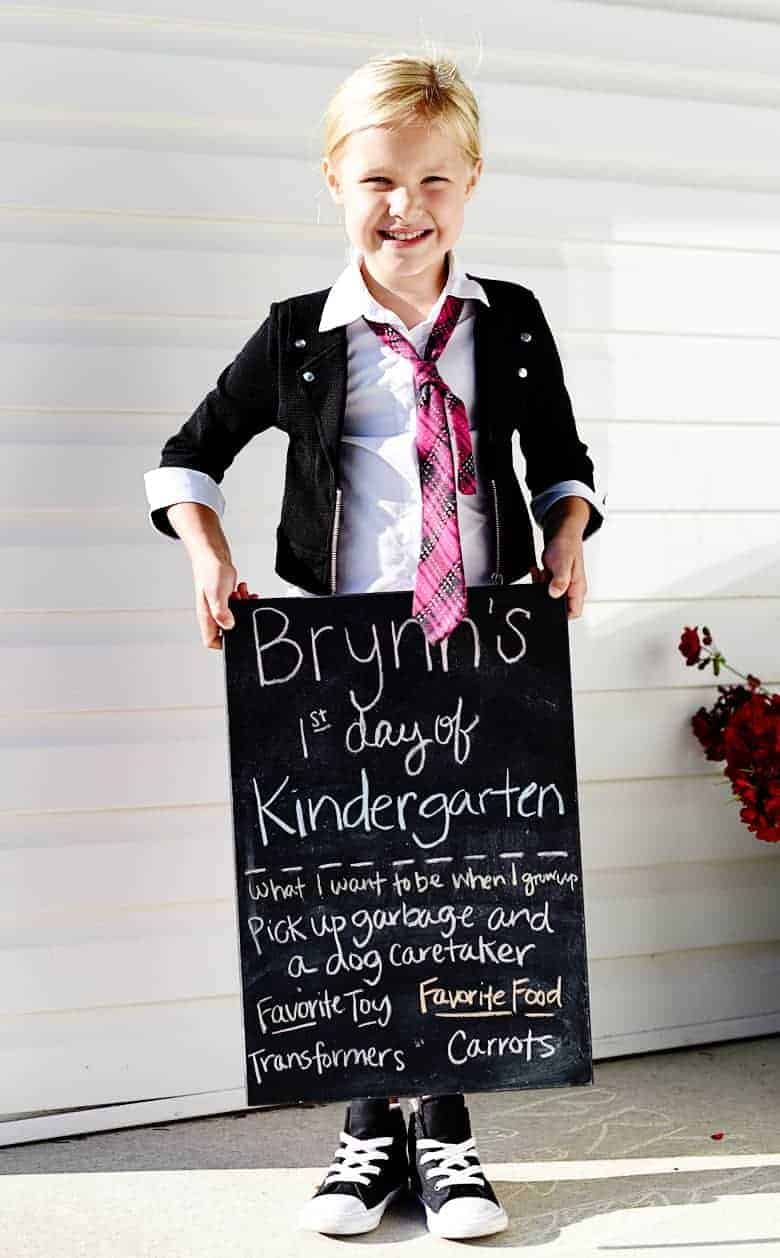 Thoughts on the benefits of having your first born and only child go back to school as an all-day Kindergartener. No more tears, hello freedom!