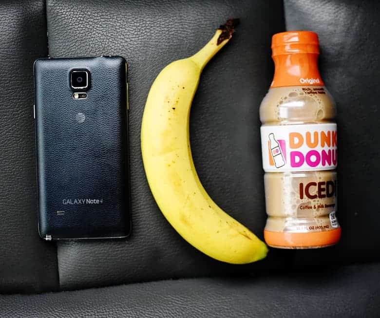 My go-to tips and tricks for an on the go morning. These make super early mornings so much easier! Dunkin' Donuts Iced Coffee is essential!