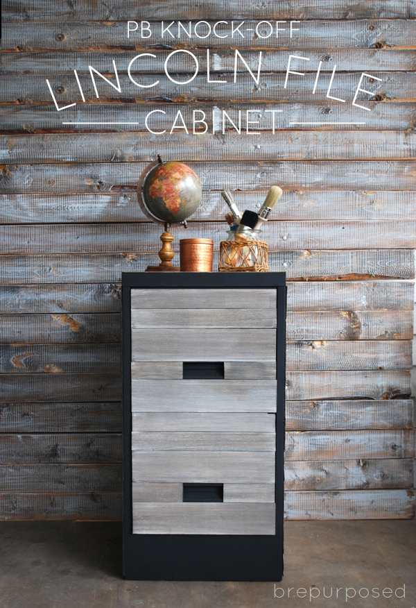 Pottery Barn Knock Off File Cabinet