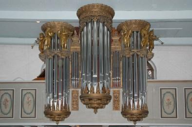 Groß Trebbow, Orgelprospekt