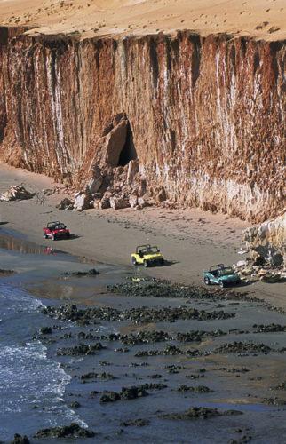 Piste des falaises - Brésil Aventure