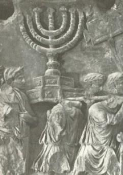 חורבן בית המקדש, מנורה
