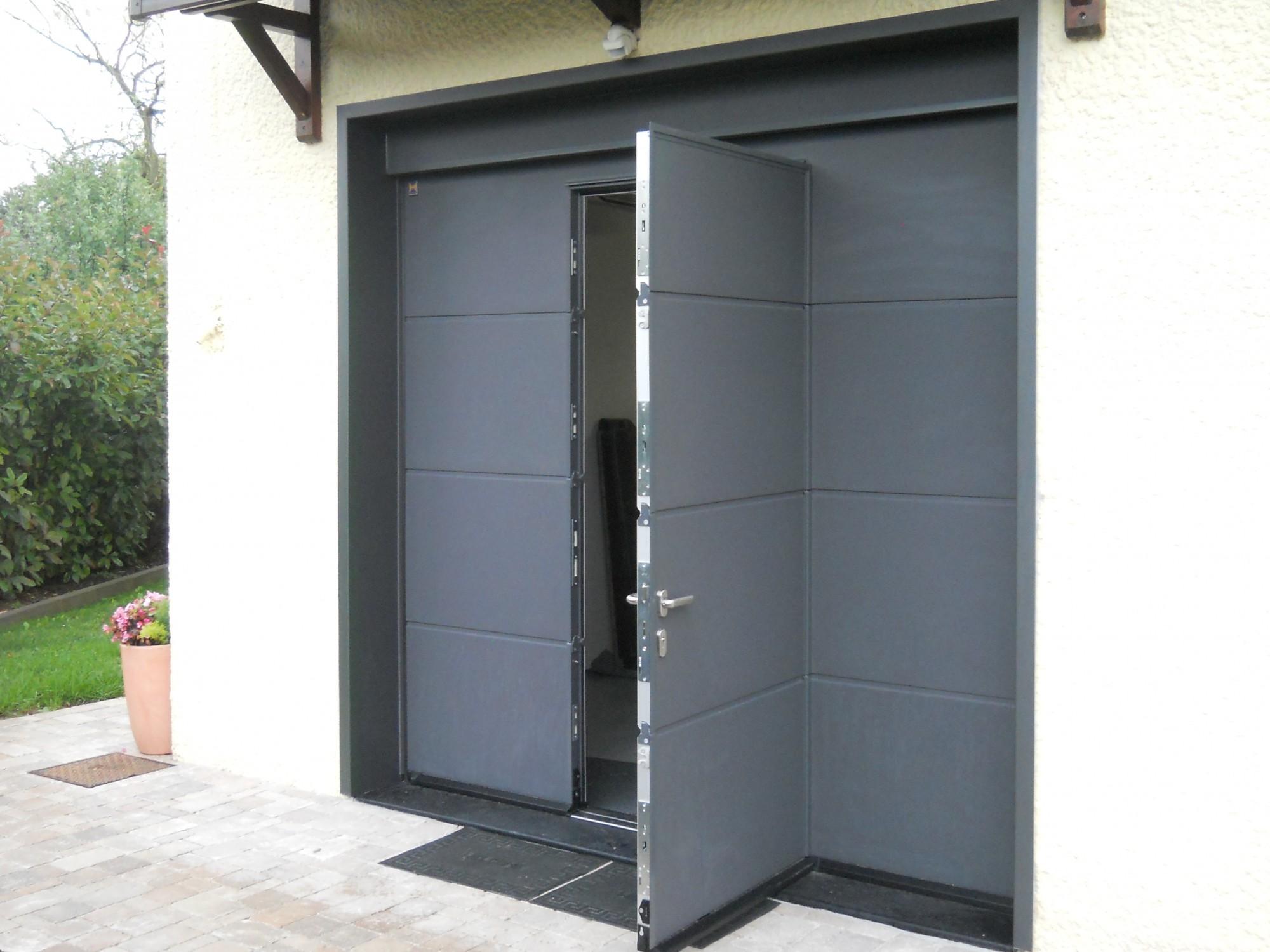 Porte De Garage Sectionnelle Sur Mesure Hormann