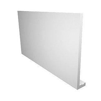 Planche De Rive Equerre Pvc Extra Blanc L 5 M L 405 Mm Ep 9 Mm Freefoam Plastics