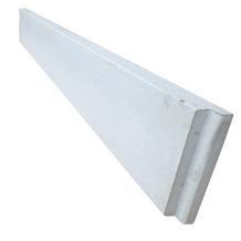 Panneau De Soubassement Beton Pour Cloture Composite Silvadec Longueur 1 77m Hauteur 25cm Epaisseur 35mm Aminci A 16mm Gris Ref Pa1725g Rousseau Clotures