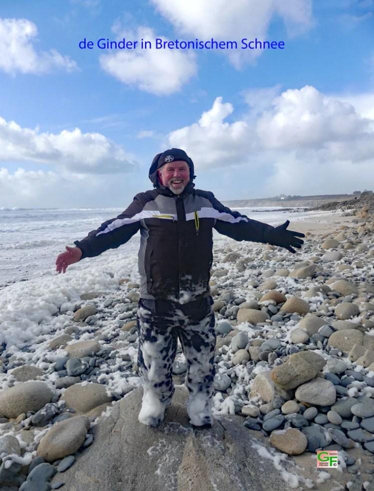 de Ginder, ein Bretonischer Schneemann