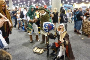 Link, Legend of Zelda, Ezio, Assassin's creed, cosplay