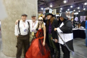 DC Harley Quinn, Mad Hatter, Assassin's Creed Assassin Cosplay