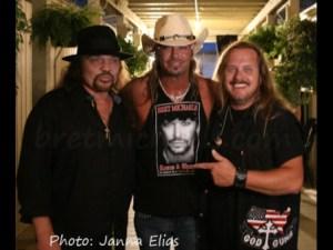 Gary Rossington, Bret Michaels, Johnny Van Zant Photo: Janna Elias