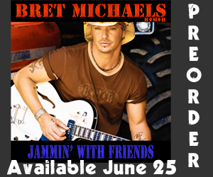 Preorder Jammin' With Friends from Bret Michaels