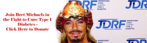 Join Bret Michaels in the Fight to Cure Type 1 Diabetes