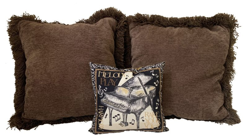 Set of 3 Pillows from Bret Michaels Home