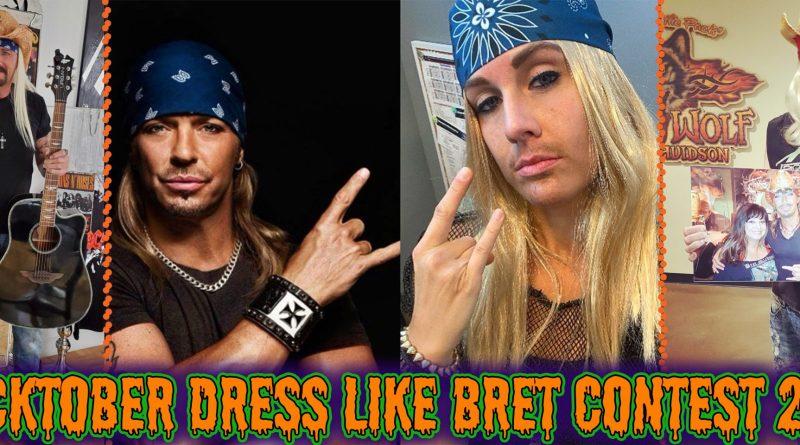 Rocktober Dress Like Bret Contest
