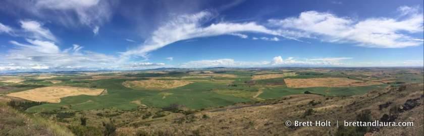 Gorgeous views of eastern WA