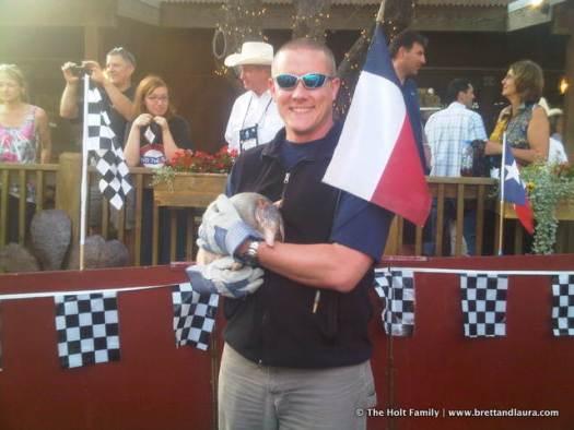 Yee haw! Texas Armadillo.