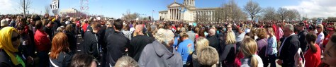 Education Rally Capitol politics