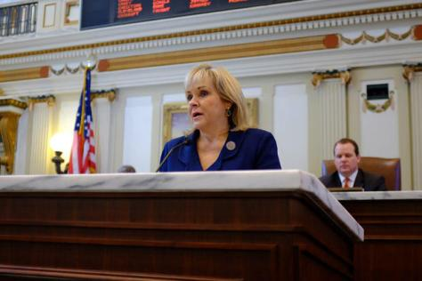Fallin and the State of the State Address