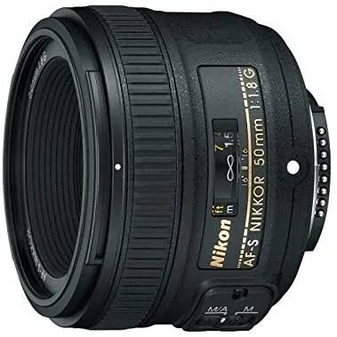 Nikon 50mm f1.8G-AF-S lens