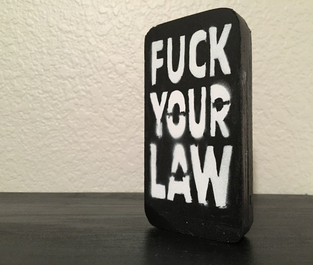 Fake Cell Phone Fuck Your Law