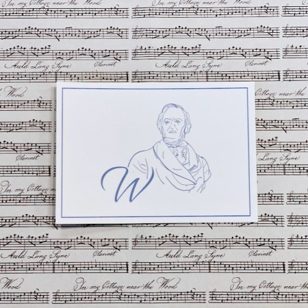 Bayreuth Buchhandlung Breuer und Sohn Postkarte Wagner
