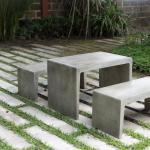 Outdoor Concrete Furniture Rockledge Melbourne Brevard County Brevard Ornamental Studio